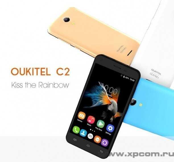 Oukitel С2 – небольшой недорогой смартфон