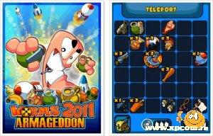 Java игра Worms 2011 Armageddon - Червячки 2011: Армагеддон
