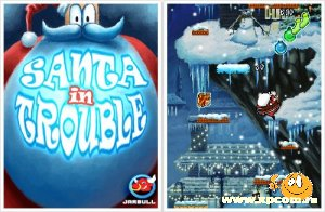 Java игра Santa In Trouble - Санта в Беде!