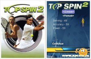 Java игра Top Spin 2