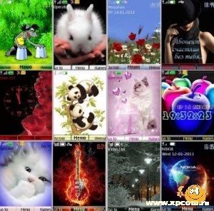 Анимированные темы для Nokia s40 №7