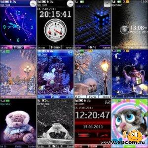 Замечательные бесплатные темы для Nokia S40