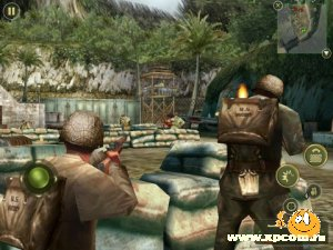 Игра на iPhone Brothers in Arms 2: Global Front