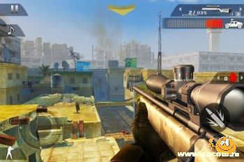 Игра для iPhone Modern Combat 2: Black Pegasus