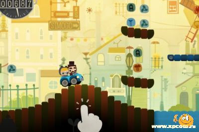 Игра для iPhone Bumpy Road