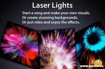 Программа для iPhone Laser Lights