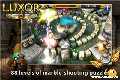 Игра Luxor 2 для iPod touch / iPod touch