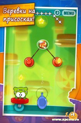 Игра для iPhone Cut the Rope: Experiments