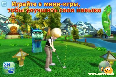Игра для iPhone Let's Golf! 3
