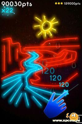 Игра для iPhone Neon Mania