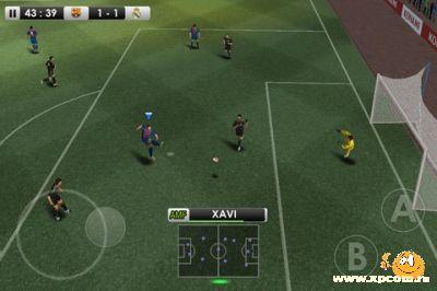 PES 2012 - Pro Evolution Soccer - Новый симулятор футбола для iPhone.