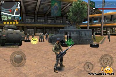 Игра для iPhone Gangstar Rio: City of Saints