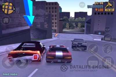 Игра для iPhone Grand Theft Auto III