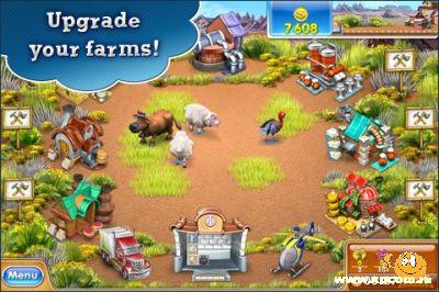 Игра для iPhone Весёлая ферма 3