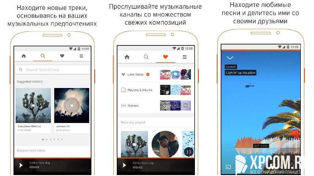SoundCloud – музыка и звуки
