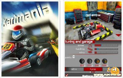 Java игра Картмания 3D