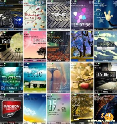 Сборник тем для Nokia S40
