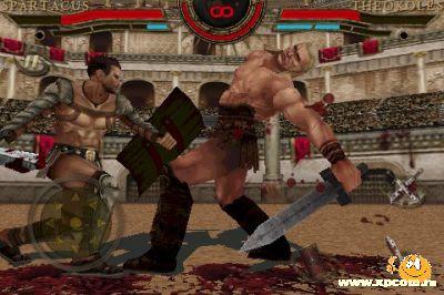 Игра для iPhone Spartacus: Кровь и песок
