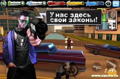 Игра для iPhone Urban Crime