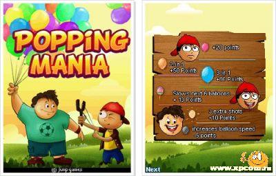 Java игра Popping Mania