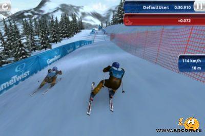 Игра для iPhone Ski Challenge 12