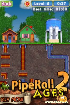 Игра для iPhone PipeRoll