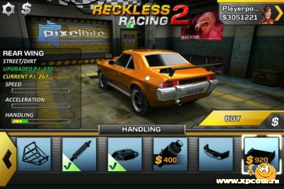 Игра для iPhone Reckless Racing 2