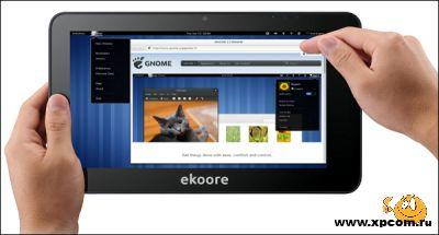 Три операционные системы в планшете Ekoore Python S