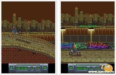 Java игра Freestyle Moto-X II