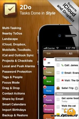 2Do: Tasks Done in Style  для iPhone