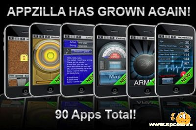 Приложени для iPhone 90 in 1 : APPZILLA!