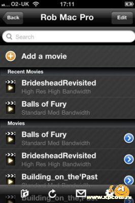 VLC Streamer для iPhone