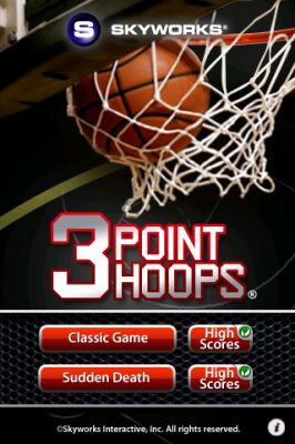 3 Point Hoops Basketball - The Classic Game