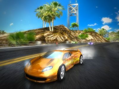 Игра Race illegal: High Speed 3D для iPhone