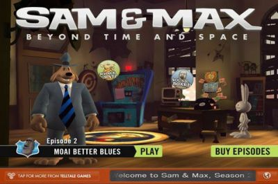 Игра для iPhone Sam & Max Beyond Time and Space