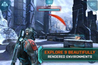 Игра для iPhone Mass Effect: Infiltrator