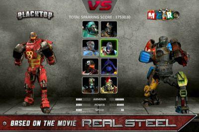 Игра Real Steel для iPhone
