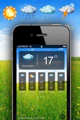 iWea Pro погода на iPhone