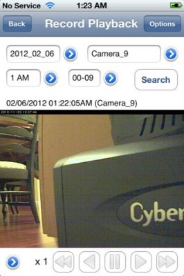 IP Camera Viewer для iPhone