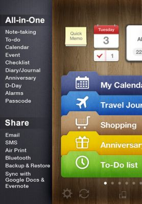 Awesome Note (+To-do/Calendar) для iPhone