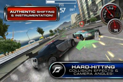 SHIFT 2 Unleashed на iPhone