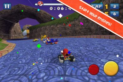 Sonic & SEGA All-Stars Racing на iPhone
