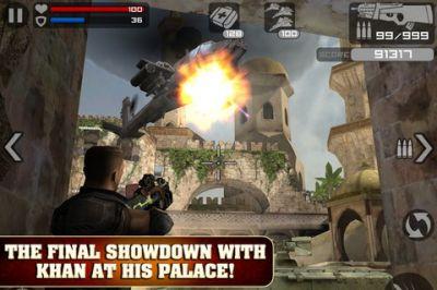 Игра Frontline Commando для iPhone