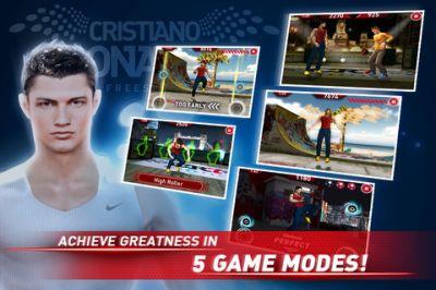 Игра Cristiano Ronaldo Freestyle Soccer  для iPhone