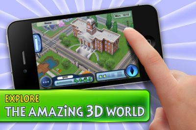The Sims 3  для iPhone и iPod