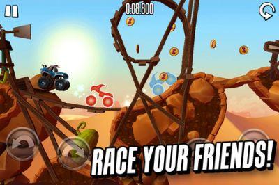 MotoHeroz - платформеная гоночная игра
