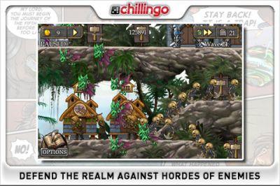 Игра для iPhone Defender Chronicles - Легнда о короле пустыни