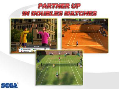 Virtua Tennis Challenge для iPhone и iPod