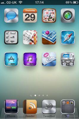 Zahra HD  - тема для iPhone