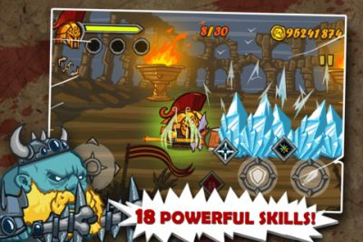 God of Fight - чудная приключенческая игра для iPhone / iPod Touch